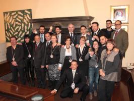 Diplomi sommelier FISAR gruppo 30,01,2015
