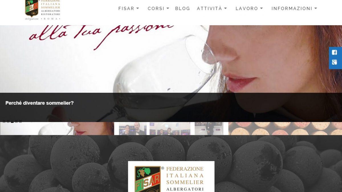 fisar-roma.it, un fermo immagine dalla homepage